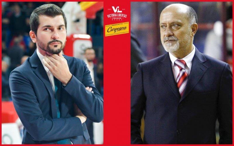 La Carpegna Prosciutto Basket Pesaro saluta Coach Federico Perego e si affida a Giancarlo Sacco