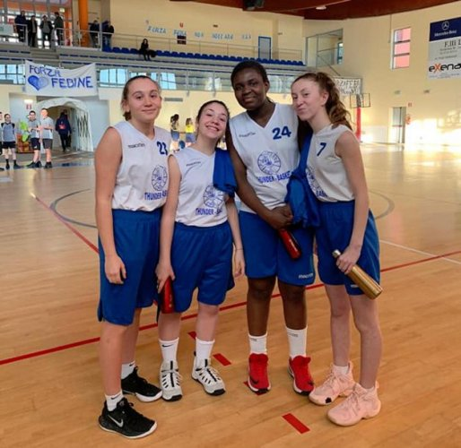 La Halley Thunder Basket Matelica , Settore giovanile : invito alla Pallacanestro Femminile