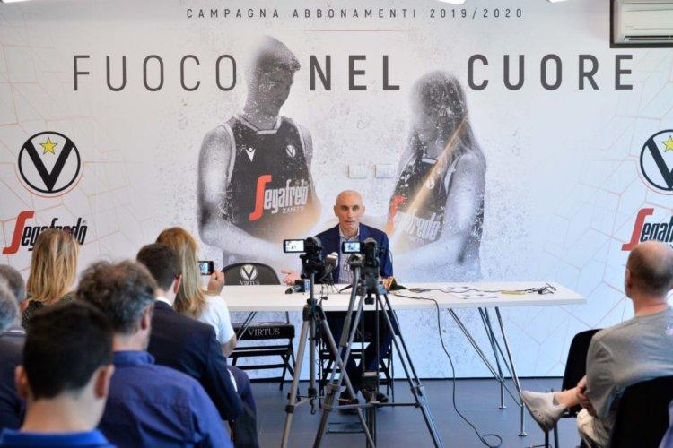 Virtus Segafredo Bologna : Le parole dell'AD Luca Baraldi dopo la conclusione di EuroCup