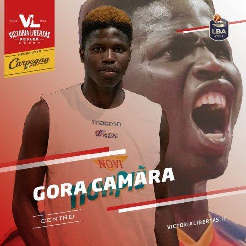 Gora Camara è un nuovo giocatore della Carpegna Prosciutto Basket Pesaro!
