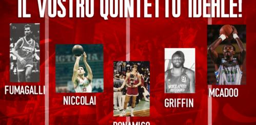 """Pallacanestro 2.015 Forlì : Il """"Vostro"""" quintetto"""