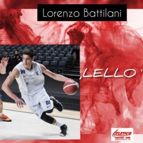 Atletico Basket Borgo : Nuovo arrivo  Lorenzo Battilani