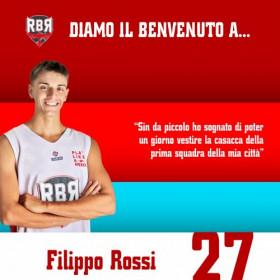 Albergatore Pro RBR : si rinforza col giovane riminese Filippo Rossi!