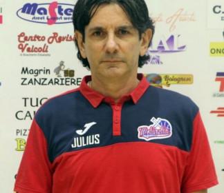 L'Anzola Basket riparte da coach Gabriele Giuliani