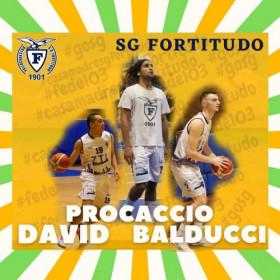 SG Fortitudo Bologna - Simone Balducci e Luigi Procaccio  confermati