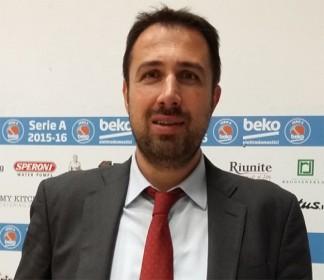 La Pall. Reggiana estende il contratto con il DS Alessandro Frosini
