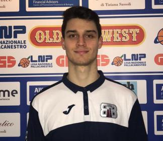 Un'altra giovane promessa  al Bologna Basket 2016 : arriva Alberto Besozzi