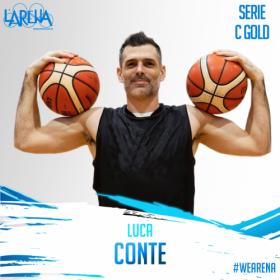 Arena Basket Montecchio : Bentornato Luca Conte