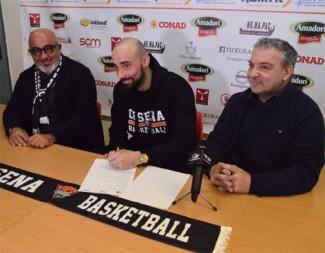 Gli Amadori Tigers Cesena presentano Matteo Frassineti