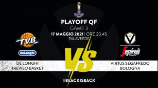 Virtus Segafredo Bologna - LBA, Playoff Quarti di Finale, Gara-3
