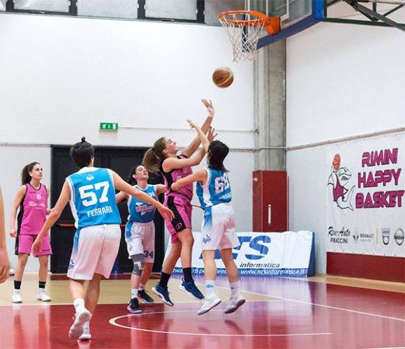 Happy basket Rimini-Vis Ferrara 82-27