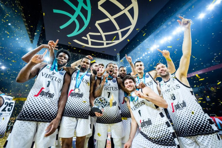 On this day, 5 maggio 2019. La Virtus Bologna  vince la Basketball Champions League