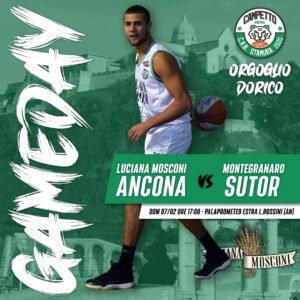 Game Note , Luciana Mosconi Ancona vs Sutor Basket Montegranaro