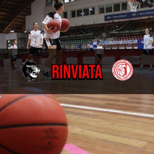 Faenza Basket Project : Rinviata la sfida tra Pallacanestro Firenze e Faenza Basket Project E- Work