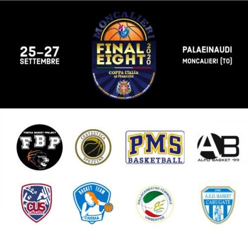 Faenza Basket Project :Serie A2 Ufficiale Coppa Italia 2020 a Settembre a Moncalieri