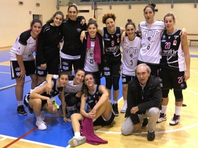 Fe. Ba Civitanova Marche  vs Faenza Project Girls   54 - 95