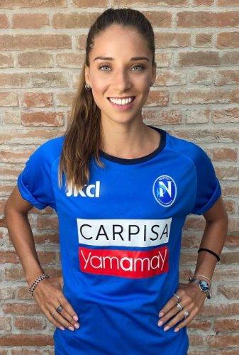 """Eleonora Goldoni : """" Sono pronta a dare il massimo a Napoli""""."""