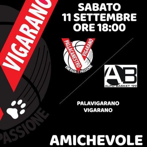 Amichevole  Pallacanestro Vigarano 2008  vs  Vs Alpo Basket 99