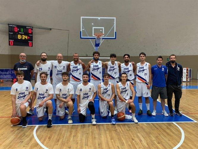 Serie D : CMO Ozzano  vs Basket Russi  92 - 79