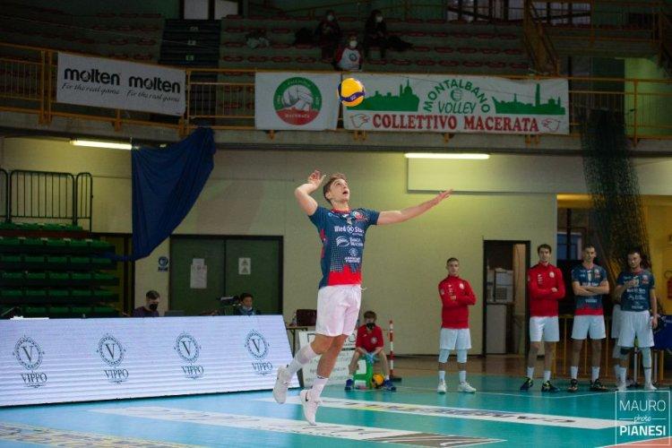 Prova di forza della Med Store Tunit, 3-0 contro San Donà