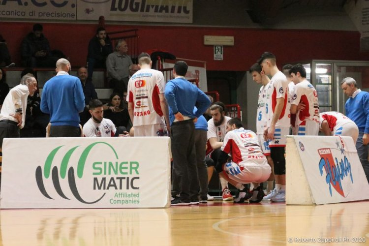 Porto S.Elpidio Basket - Sinermatic New Flying Balls Ozzano  52 - 70