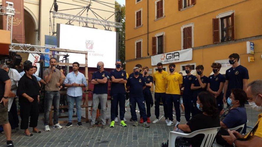 Intervento WiMORE Energy Volley Parma al Festival del Prosciutto