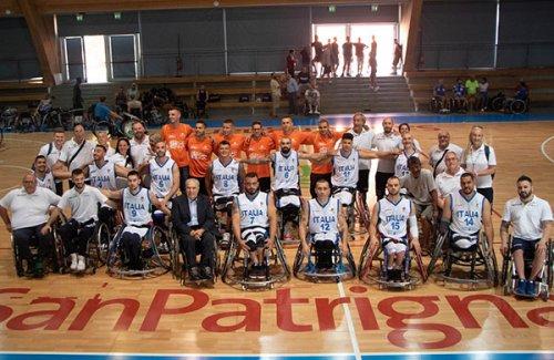 Basket in carrozzina, in archivio il triangolare Italia-GBR-USA a San Patrignano
