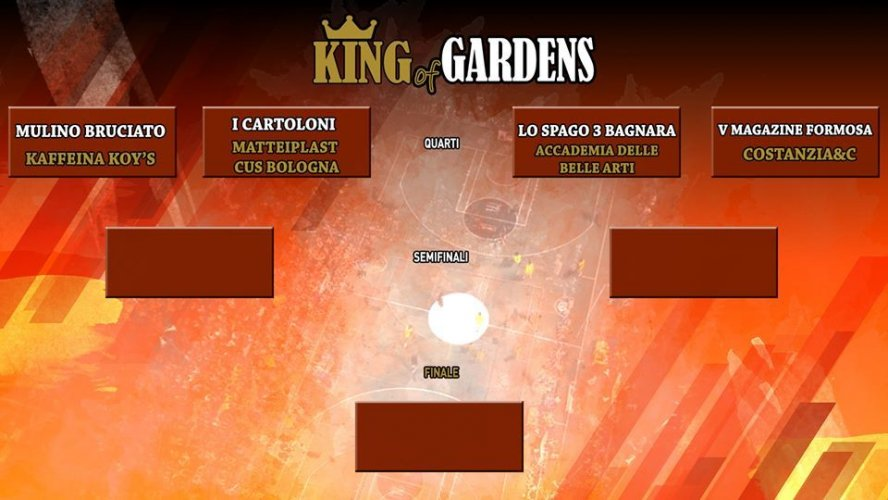 "Contest ""King of Gardens  "" Playground Giardini Margherita"