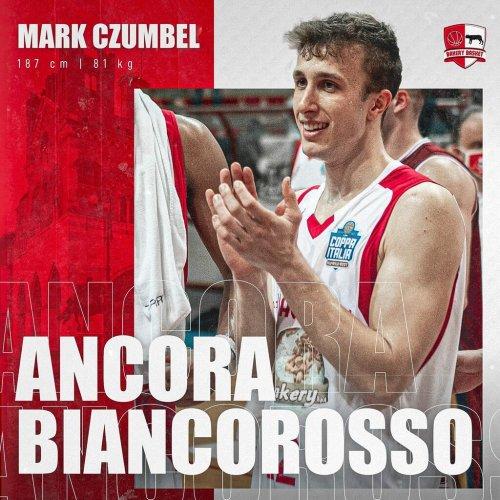 Conferme in casa Bakery Piacenza : Mark Czumbel in maglia Biancorossa anche per la prossima stagione