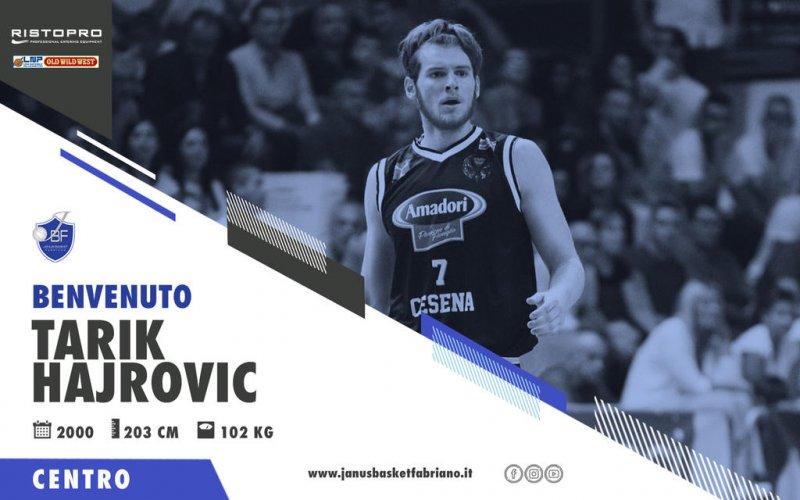 Janus Fabriano Basket : Benvenuto : Tarik Hajrovic
