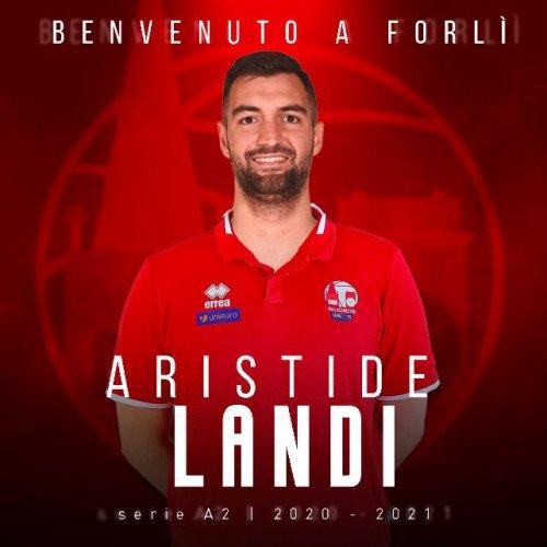 Aristide Landi è un nuovo giocatore della Pallacanestro 2.015 Unieuro Forlì .