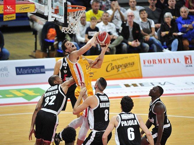 La Carpegna Prosciutto Basket Pesaro: Infortunio per Leonardo Totè.