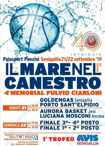 P.S.Elpidio Basket, sabato il Torneo Il Mare nel Canestro