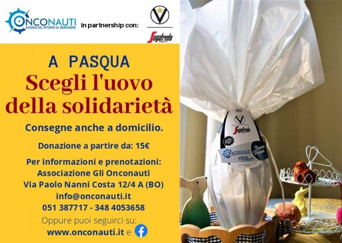 """Virtus Segafredo Bologna - Onconauti: """"A Pasqua scegli l'uovo della solidarietà"""""""