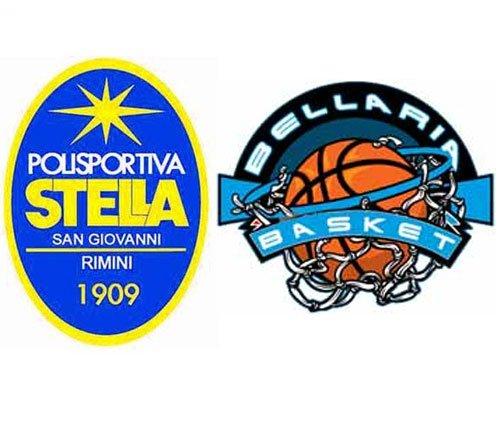 Polisportiva Stella vs Bellaria basket  83-80