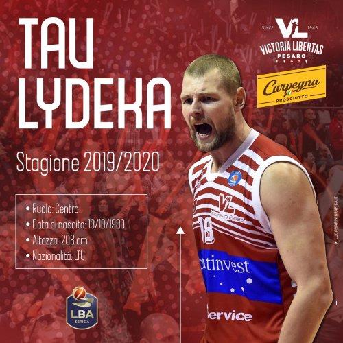 Carpegna Prosciutto Basket Pesaro: Tau Lydeka è di nuovo biancorosso!!!