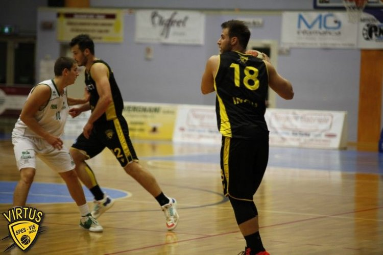 Aviators Basket Lugo - Virtus Intech Imola  79-75 dopo 2 tempi supplementari