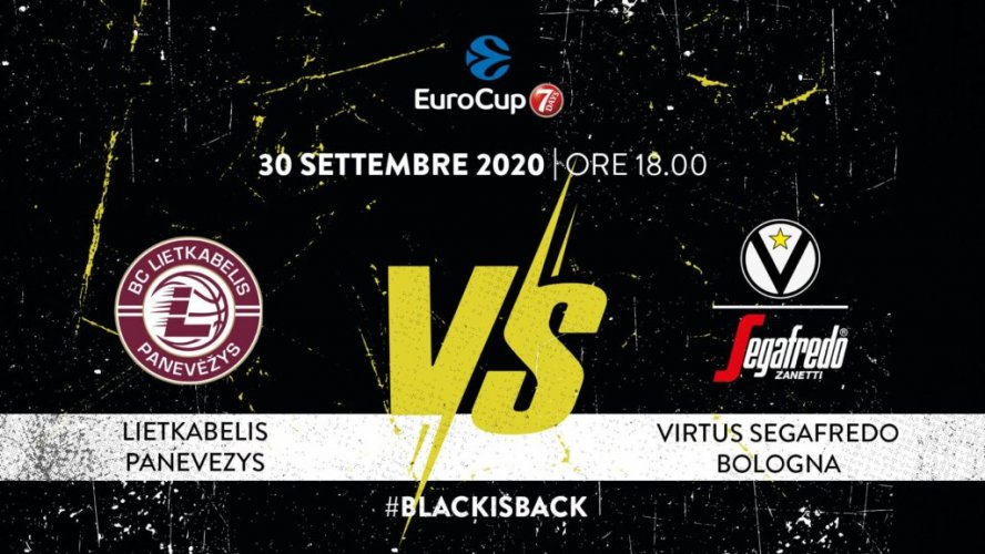 1° giornata: Liektabelis Panevezys vs Virtus Segafredo Bologna