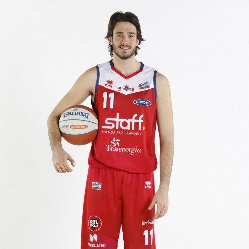 Pallacanestro Mantovana : Andrea Albertini ceduto al Bologna Basket 2016
