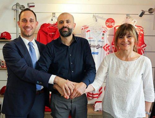 La Pallacanestro Reggiana ha presentato coach Buscaglia