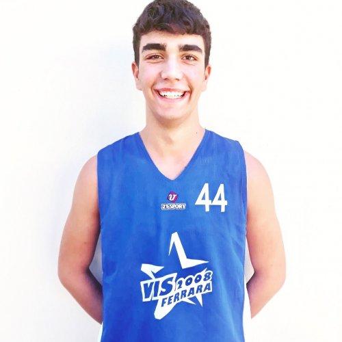 La secoda new entry dell'Under 15 Eccellenza è Marcel Belmonte.
