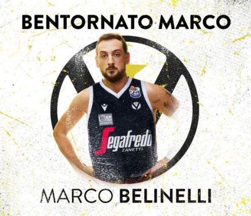 Marco Belinelli è un nuovo giocatore di Virtus Segafredo Bologna.