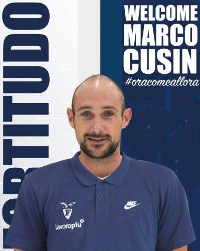 Marco Cusin è un nuovo giocatore della Fortitudo Lavoropiù Bologna !