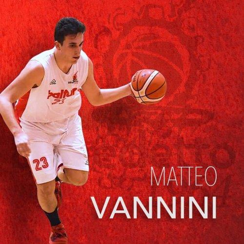 Matteo Vannini, un altro cuore biancorosso in Serie D