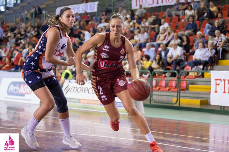 Virtus Segafredo Bologna comunica di aver raggiunto l'accordo con Milica Micovic.