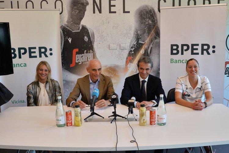 Virtus Segafredo - Presentazione dell'atleta Milica  Micovic , e della partnership di BPER Banca Official Bank per la stagione 2019/2020.