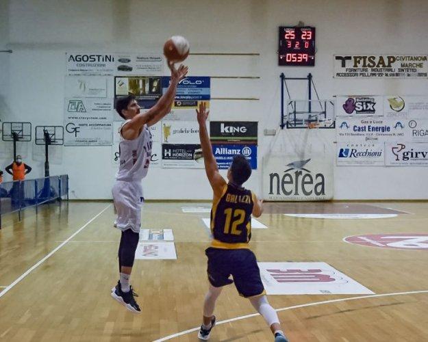 Virtus Basket Rossella Civitanova Marche  -  Sutor Basket Montegranaro 67-60
