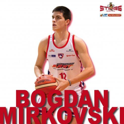 Bogdan Mirkovski è un nuovo giocatore della Pallacanestro Mantovana !!