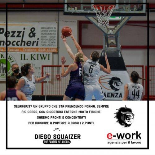 Faenza Basket Project : Il pre-partita contro S. Salvatore  Selargius
