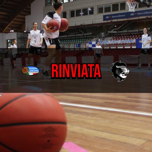 Faenza Basket Project : Rinviata la sfida contro San Giovanni Valdarno